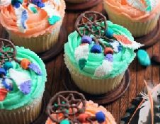 Décoration de Cupcakes Attrapes-rêves