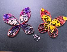 Quilling sauvage