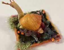 Broche escargot