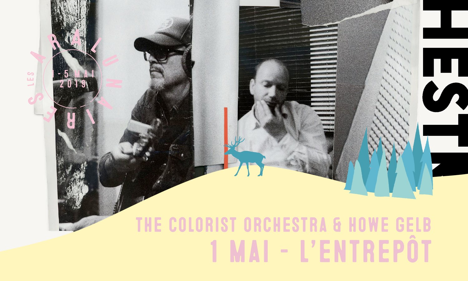 THE COLORIST ORCHESTRA & HOWE GELB