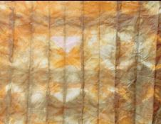 Zerp waste vegetable dyes and shibori